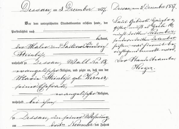 Leopoldine Steinbiß-Geburtsurkunde-Monat