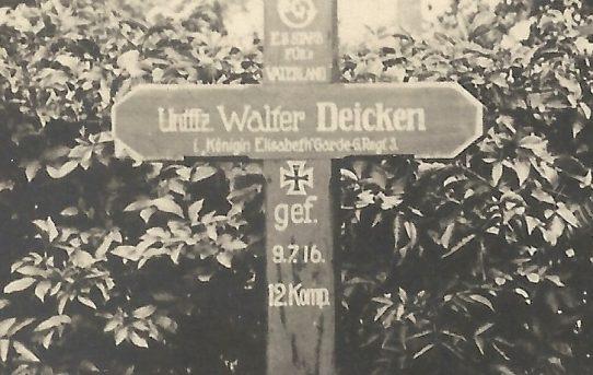Zum 100. Todestag von Walter Deicken
