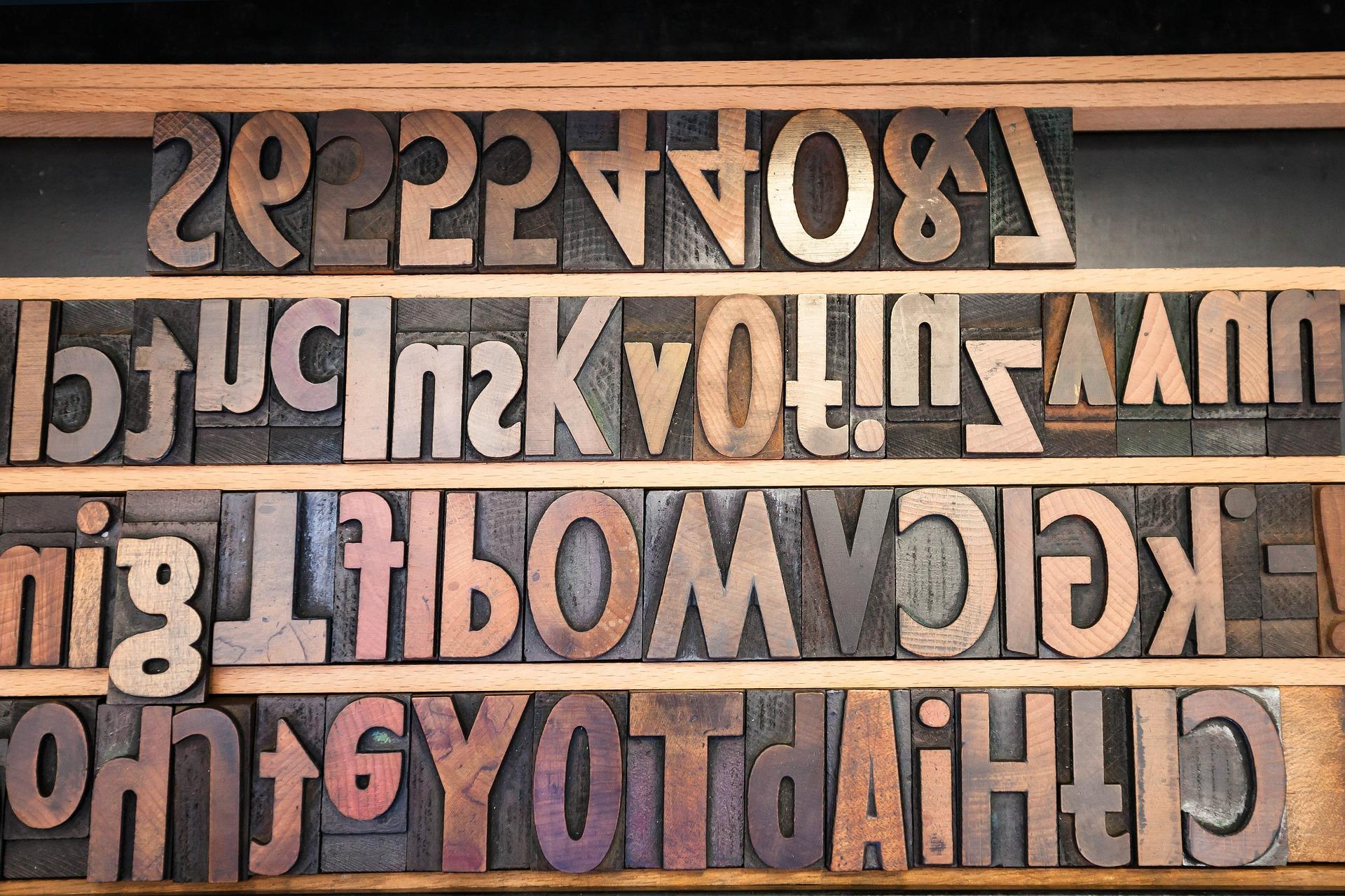 Buchstabensalat bei der Indexierung