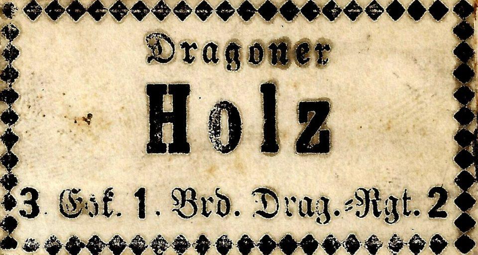 Absender Karl Holz